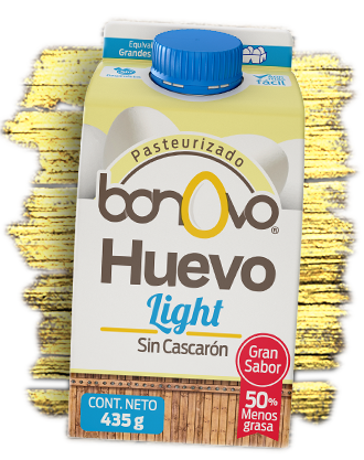 Bote de Huevo light